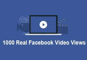 I will add 1000 Facebook Video views