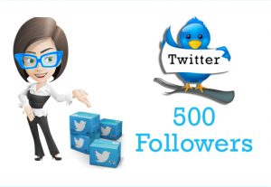 I will Give You 500 Twitter Followers