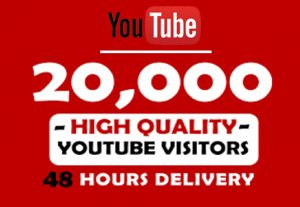 I will Provide 20,000+ YouTube Views To Your Video