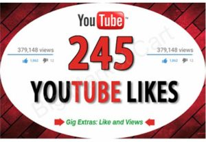 I will Provide 245 Real Youtube Likes Fast