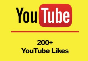 I will give you real 200+ Youtube Likes