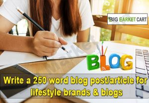 Write a 250 word blog post/article for lifestyle brands & blogs