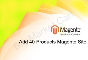 I Will Add 40 Products To Your Magento Site