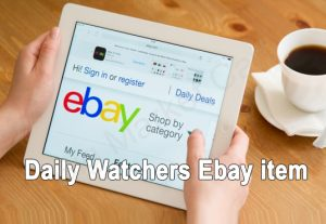 I Will Add Daily Watchers To Your Ebay Item