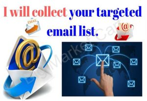 I Will Collect Your Targeted Email List