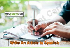 I Will Write An Article In Spanish