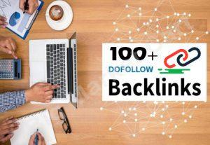 I will create 100+ do follow Backlinks