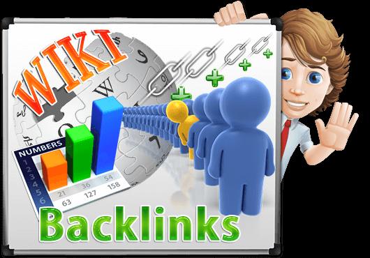 I Will do 20 Wiki Backlinks