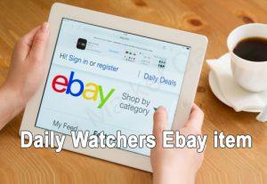 I Will Add Daily Watchers To Your Ebay Item