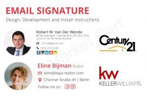 I Will Design Html Email Signature