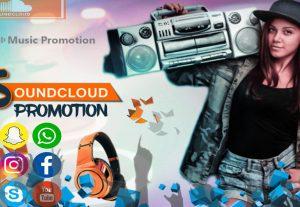 I Will Promote Soundcloud Music 100 Million Us,Uk,Canada Worldwide People